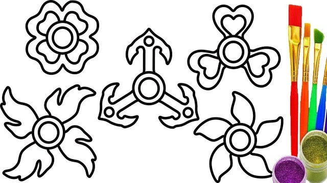 Fidget Spinner Coloring Page Fidget Spinner Coloring Page Fresh Fid Spinner Coloring Pages