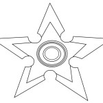 Fidget Spinner Coloring Page Fidget Spinner Coloring Pages Black And White Watsica