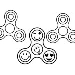 Fidget Spinner Coloring Page Fidget Spinner Colouring Page Coloring Pages For Kids And Children