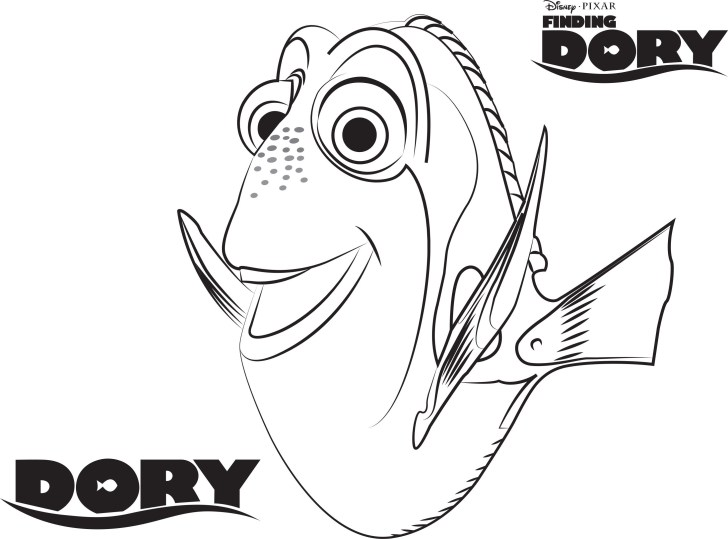 30+ Awesome Image of Finding Nemo Coloring Pages