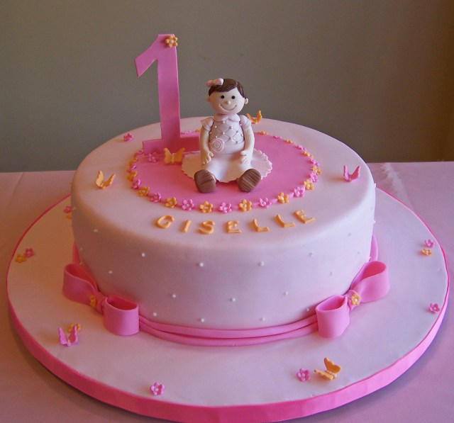 First Birthday Cakes For Girls First Birthday Cake Little Girl 10 Cake Beth Flickr