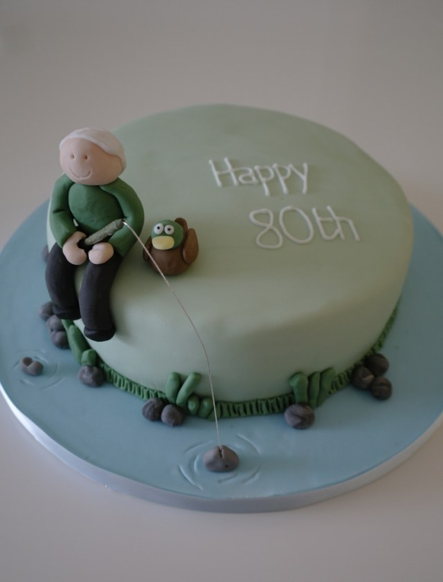 Fishing Birthday Cakes Fishing Birthday Cake Birthday Cake With A Fishing Theme F Flickr