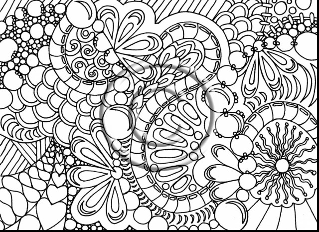 Flower Adult Coloring Pages Complex Coloring Pages For Adults Galaxy Plus Printable Free