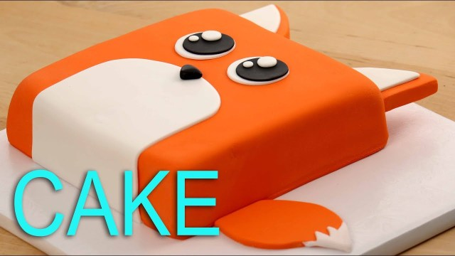 Fox Birthday Cake Amazing Fox Cake Youtube