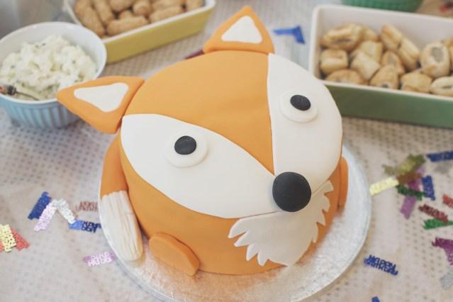 Fox Birthday Cake Baking A 1st Birthday Fox Cake With The Joseph Joseph Nest 9