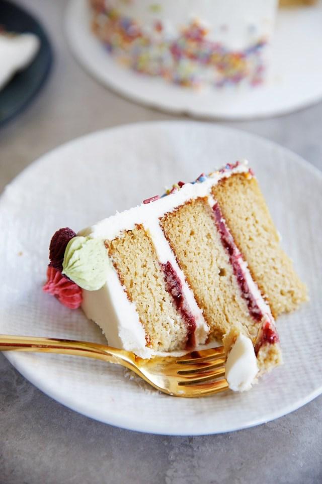 Free Birthday Cake The Best Gluten Free Layer Birthday Cake Lexis Clean Kitchen