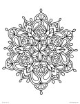 Free Printable Mandala Coloring Pages Coloring Pages