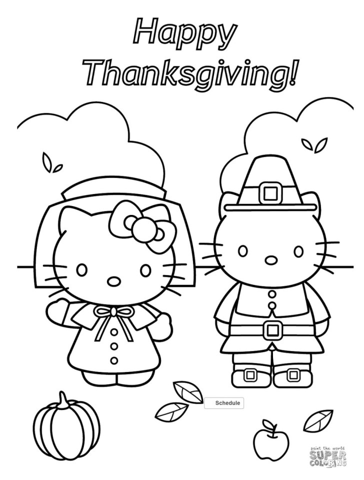 30+ Pretty Picture of Free Printable Thanksgiving Coloring Pages