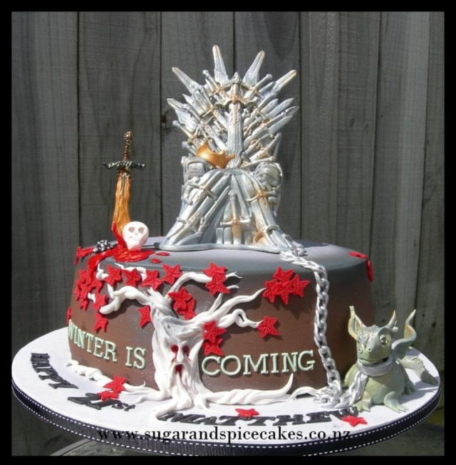 Game Of Thrones Birthday Cake Game Of Thrones Cake Cakecentral