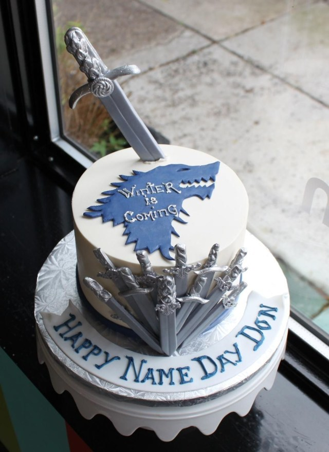 Game Of Thrones Birthday Cake Game Of Thrones Cake Designs Game Of Thrones Pinterest