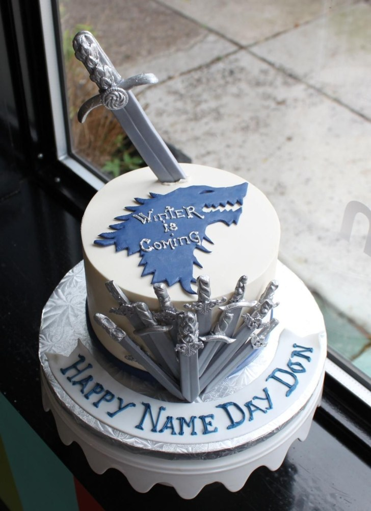 34+ Amazing Photo of Game Of Thrones Birthday Cake