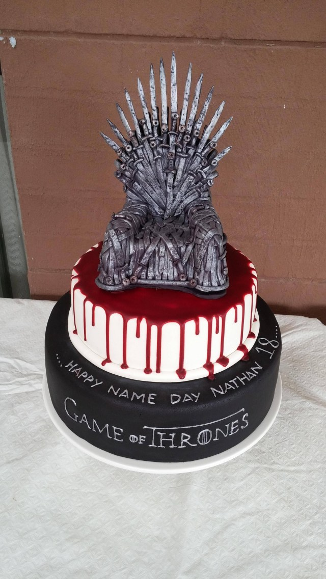 Game Of Thrones Birthday Cake Game Of Thrones Cake Food Drink Pinterest Game Of Thrones