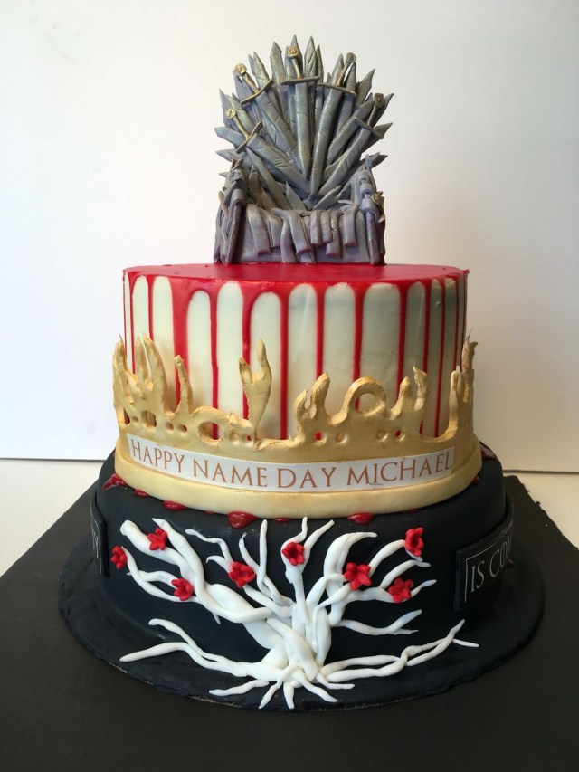 Game Of Thrones Birthday Cake Game Of Thrones Theme Birthday Cake 32 Pinterest Game Of