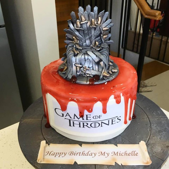 Game Of Thrones Birthday Cake Look You Can Order This Cool Game Of Thrones Cake In Davao When