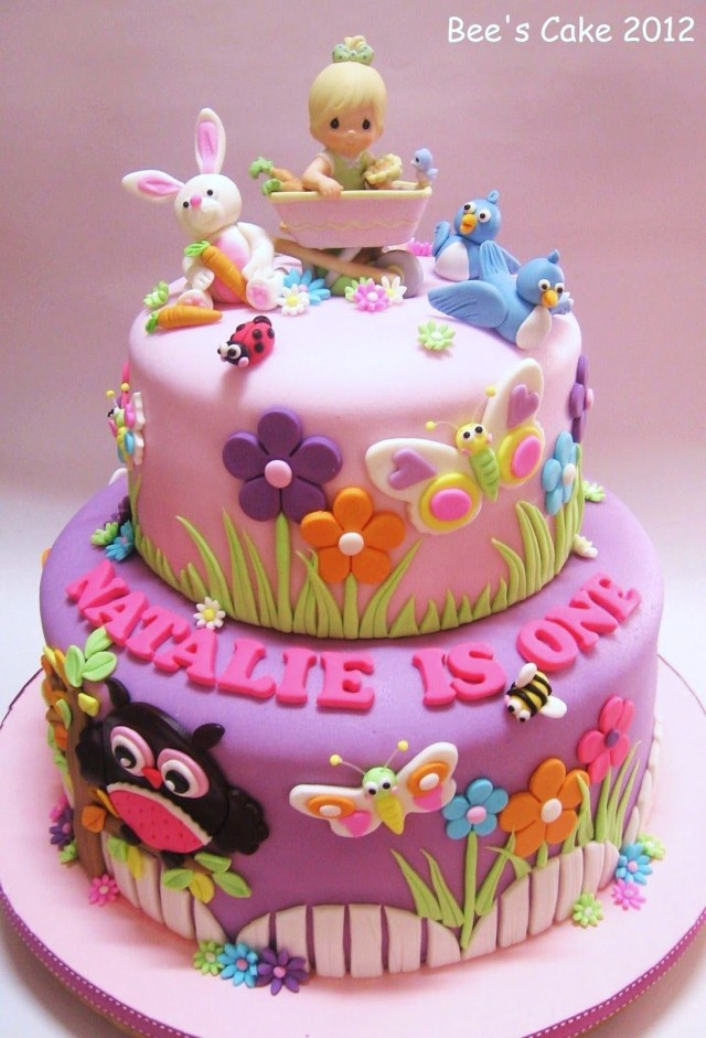 Girls Birthday Cake Toddler 1st Birthday Cake Please Check Out My Website Thanks Www