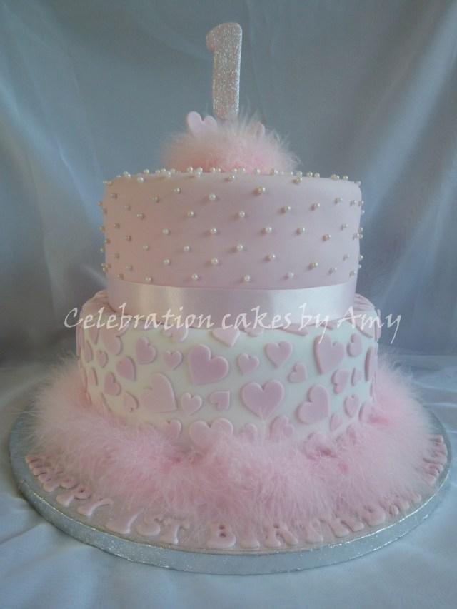 Girls First Birthday Cake 8 Elegant Girls First Birthday Cakes Photo Little Girls 1st
