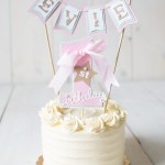 Girls First Birthday Cake Girl First Birthday First Birthday Decorations 1st Birthday Cake