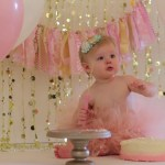 Girls First Birthday Cake Girls First Birthday Cake Smash Session Youtube