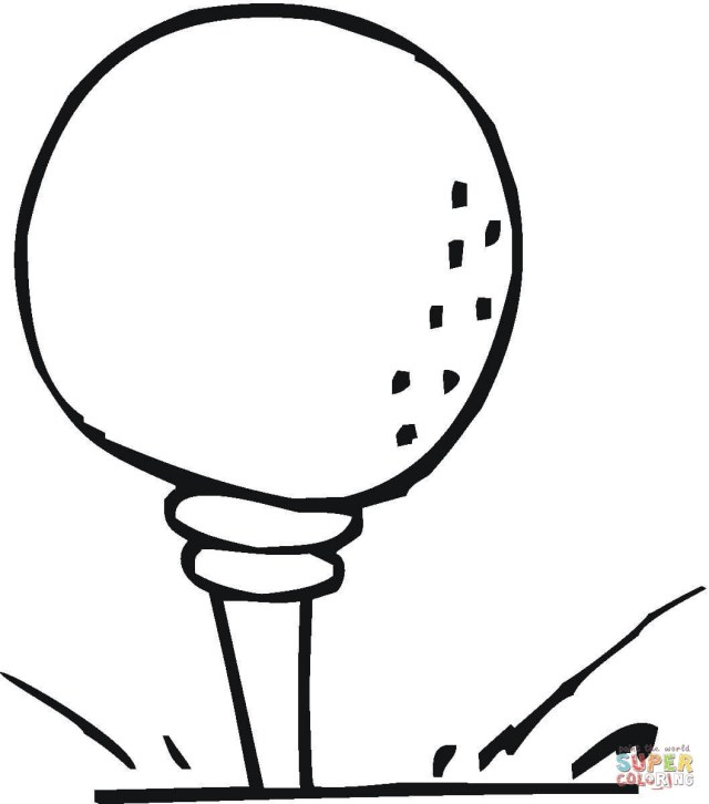 27 Beautiful Image of Golf Coloring Pages