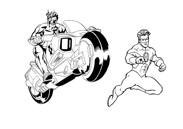 Green Lantern Coloring Pages Green Lantern Coloring Page Book And Pages Agmc