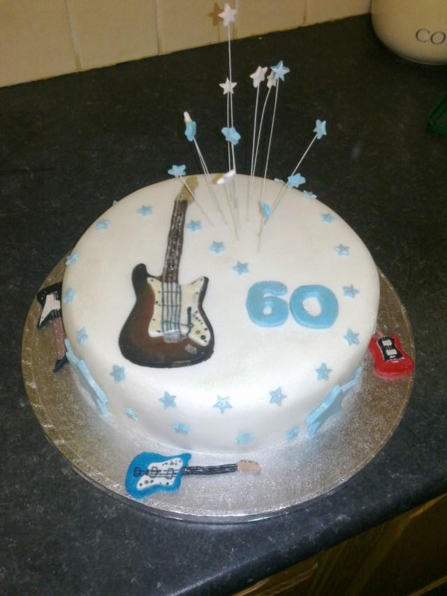 Guitar Birthday Cake Guitar Birthday Cake Cakecentral