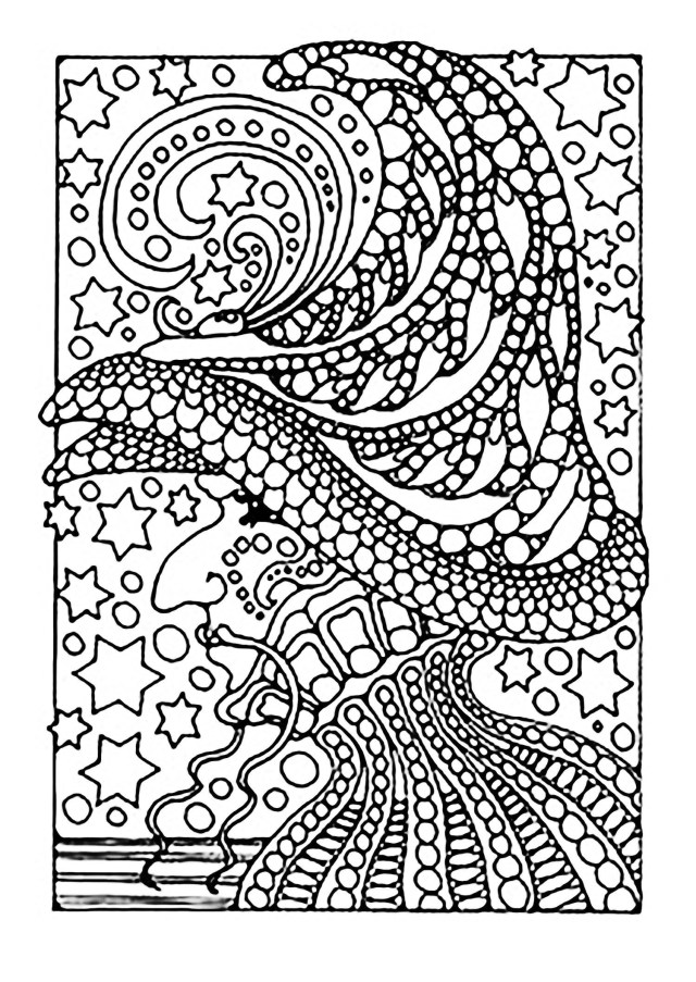 Halloween Coloring Pages Printable Halloween Coloring Pages Printables Haunted House Kids A Scary Witch