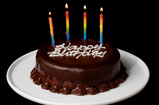 Happy Birthday Cake Pictures 2 Layer Chocolate Birthday Cake Send Birthday Cakes Online