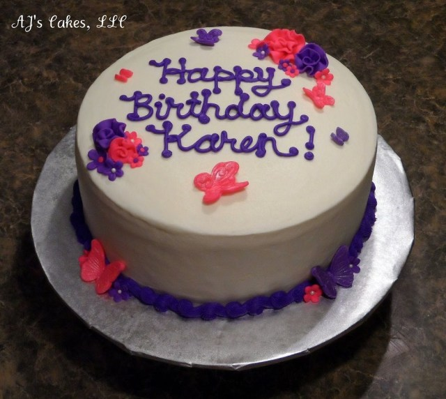 Happy Birthday Cake Pictures Happy Birthday Karen Cake Image Happy Birthday Karen Happy