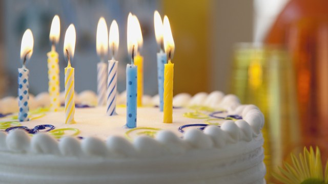 Happy Birthday Cake With Candles Happy Birthday Cake With Candles Hd Wallpaper Background Images