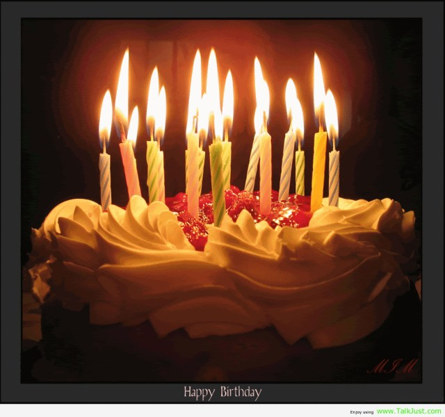 Happy Birthday Cake With Candles Happy Birthday Sharon Happy Birthday Pinterest Birthday