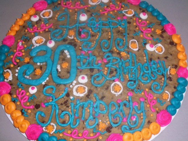 Happy Birthday Cookie Cake Sweet Treats Susan Cookies And Cookie Cakes
