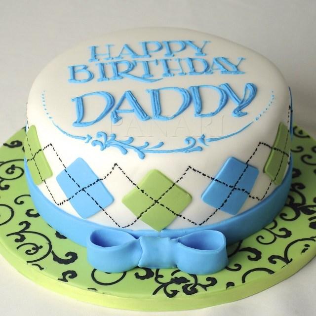 Happy Birthday Dad Cake Happy Birthday Daddy Cakes In 2019 Cake Birthday Cake