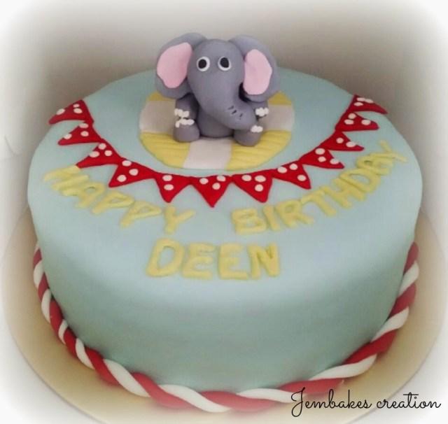 Happy Birthday Diana Cake Jembakes Elephant Cake