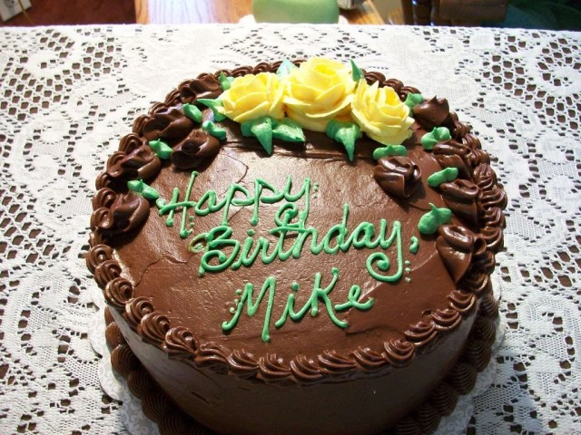Happy Birthday Mike Cake Happy Birthday Mike Cakecentral
