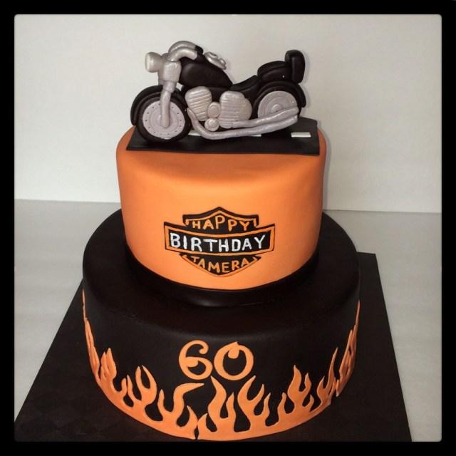 Harley Davidson Birthday Cake Harley Davidson Motorcycle Birthday Cake Cakecentral