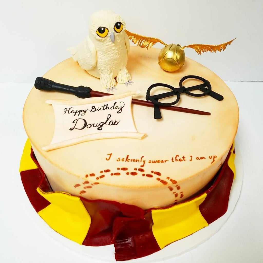 Harry Potter Birthday Cake Cakes For Kids Popsugar Australia Parenting