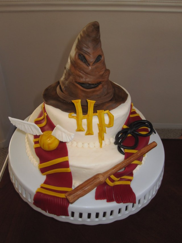 Harry Potter Birthday Cake Harry Potter Cakes Decoration Ideas Little Birthday Cakes
