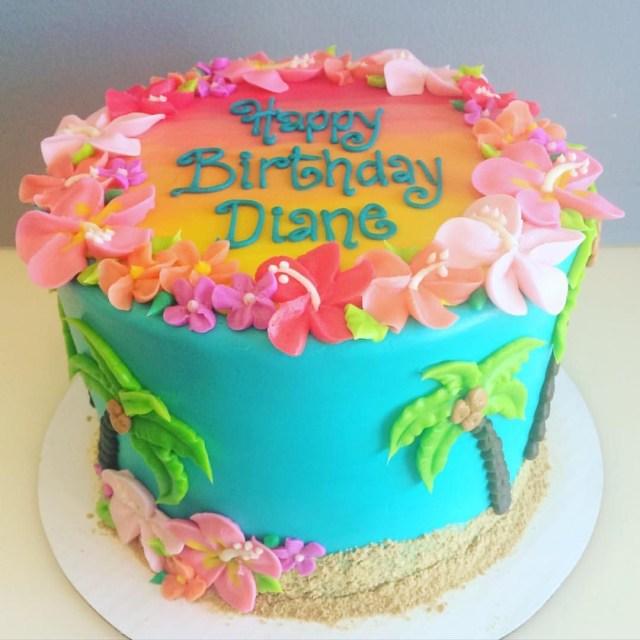 Hawaiian Birthday Cakes Hawaiian Birthday Cake Desserts Pinte