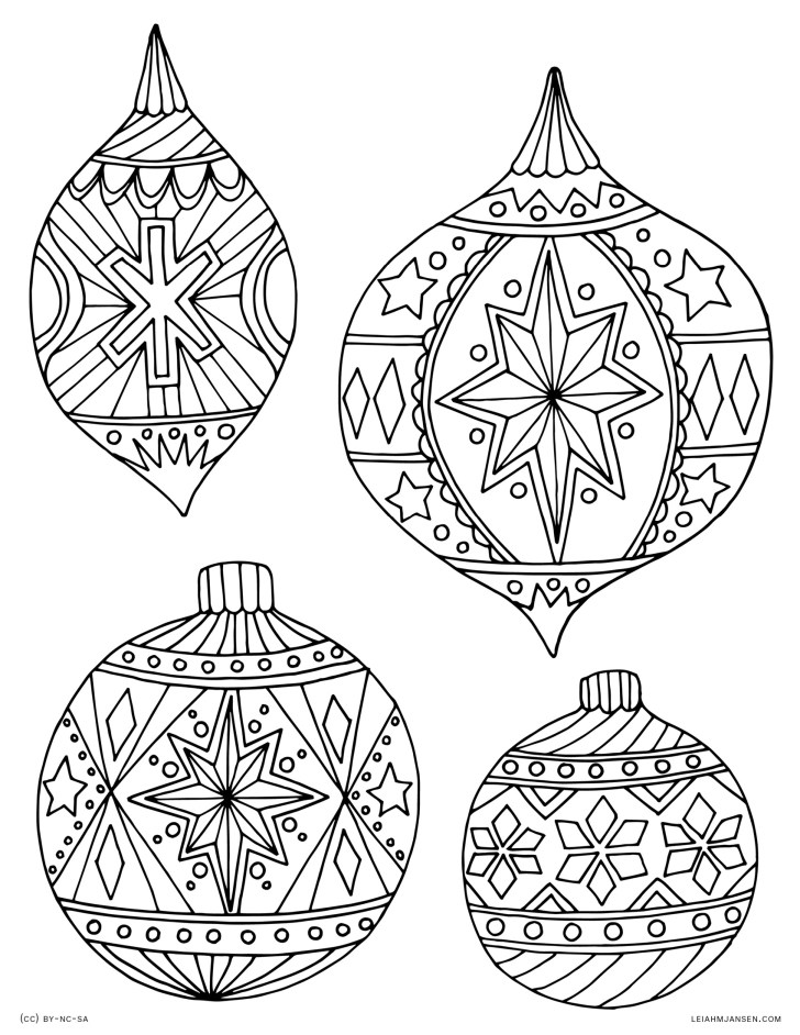 30+ Exclusive Picture of Holiday Coloring Pages