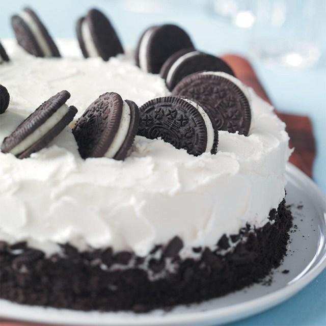 Homemade Birthday Cake Recipes Cookies And Cream Cake Recipe Taste Of Home