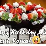 Images Of Happy Birthday Cake Happy Birthday Cake Picture Youtube