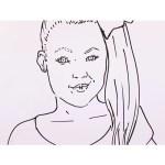 Jojo Siwa Coloring Pages Jojo Siwa Coloring Sheet Free Printable Coloring Pages
