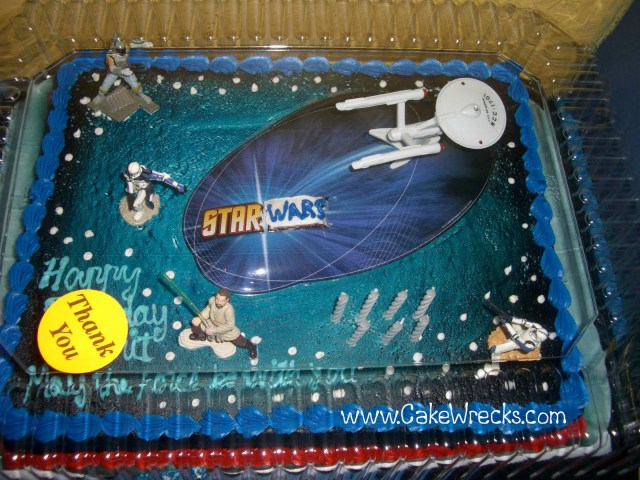 King Soopers Birthday Cakes Cake Wrecks Home Syfy Sacrilege
