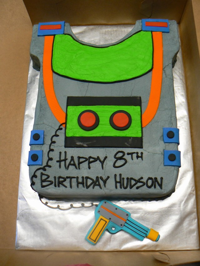Laser Tag Birthday Cake 9 Laser Tag Inspired Cakes Photo Laser Tag Cake Laser Tag