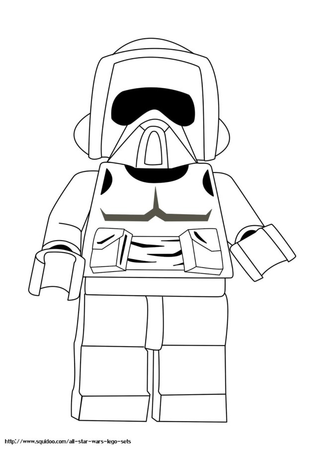 Lego Coloring Pages Lego Star Wars Coloring Pages Stroom Tropers Free Printable In