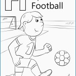 Letter F Coloring Page Letter F Coloring Page Unique Letter F Is For Football Coloring Page