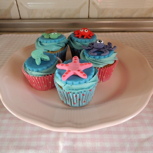 Little Mermaid Birthday Cake Walmart Cupcakes Tesco