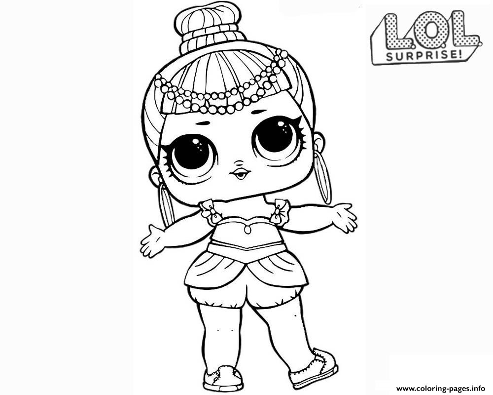 Lol Coloring Pages Lol Surprise Doll Genie Coloring Pages Printable