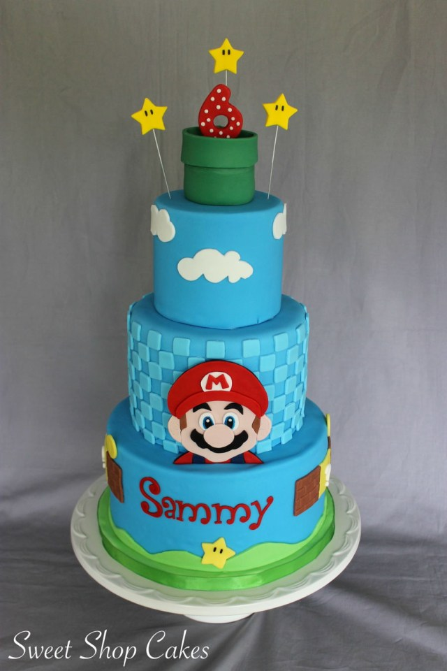 Mario Birthday Cake Super Mario Birthday Cake Cakecentral
