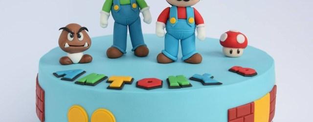 Mario Birthday Cake Super Mario Cake Child Cake In 2019 Pinterest Super Mario